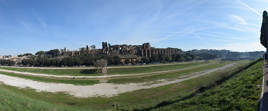 Rim, Circo Massimo, slika je vidna v Google Chromu